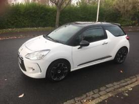 CITROEN DS3 THP 1.6 TURBO TOP OF THE RANGE CHEAPEST IN THE UK!! MAY PX SWAP