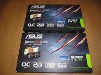 2 Asus DirectCUII 770 2GB