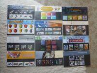 Stamp Presentation Packs 2003 - 2006