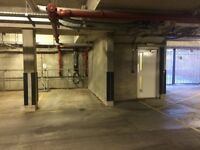 Underground secure car park space to rent