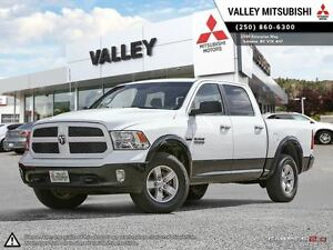 2014 Ram 1500 SLT-BLUETOOTH, DISPLAY SCREEN, HEATED SEATS