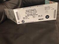 Eubank Jr Vs Groves MEN arena *1 ticket