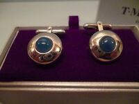 QUALITY CUFFLINKS BY TM LEWIN IN GIFTBOX