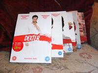 Dexter DVDs, complete set