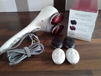 Champneys Wellbeing Relaxing Swedish Massager - Hand Held (used once)
