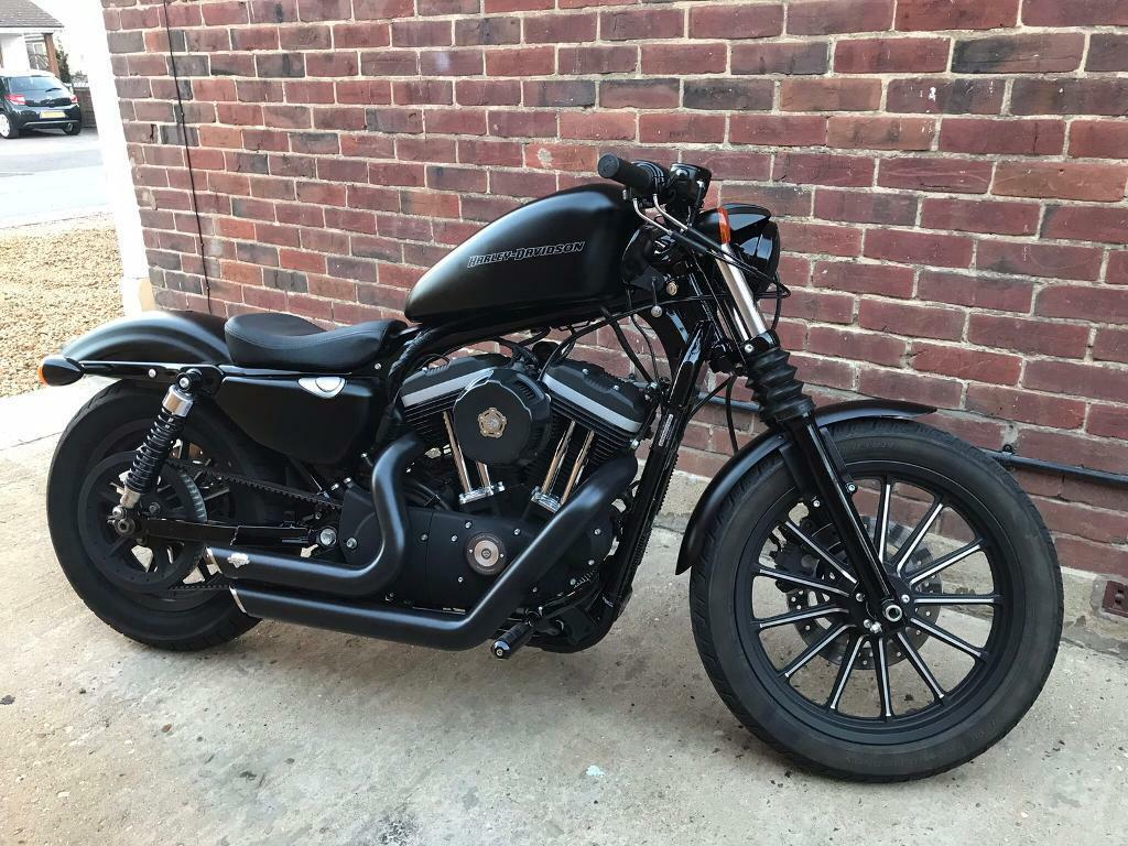 harley davidson sportster 883 iron | in norwich, norfolk | gumtree