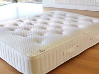 BRAND NEW PLATINUM RANGE LUXURIOUS DOUBLE MEMORY FOAM AND SPRUNG MATTRESS FREE DELIVERY ANYTIME £139