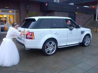 Chauffeur Driven Car Hire Wedding Airport Transfer Bentley Rolls Royce Range Rover Limos 02082265950