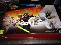 Disney infinity 3.0 for Wii U with 4 figures