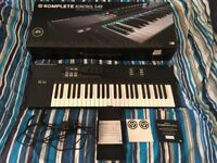 Native Instruments Komplete Kontrol S49 controller for sale, perfect condition