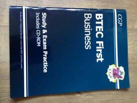 BTEC Business study book and exam guide