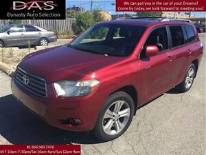 2008 Toyota Highlander SPORT LEATHER/SUNROOF/AWD/REAR VIEW CAMER