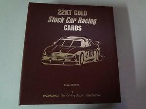 22KT GOLD RACING CARDS SET ( 50 CARDS )