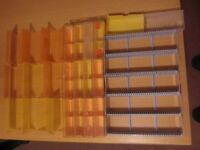 Sundry kodak 35mm slide cases