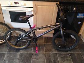 Voodoo bmx stunt bike 20inch