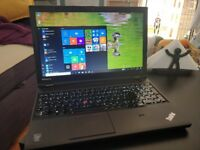 Lenovo Thinkpad 540p, Nvidia graphics, 1080p screen, backlit keys, SSD, performance model