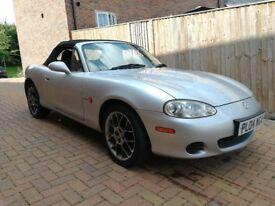 2004 Mazda Mx5 1.6 Euphonic MK2.5 - Mot Feb '18- Only 103,000 miles