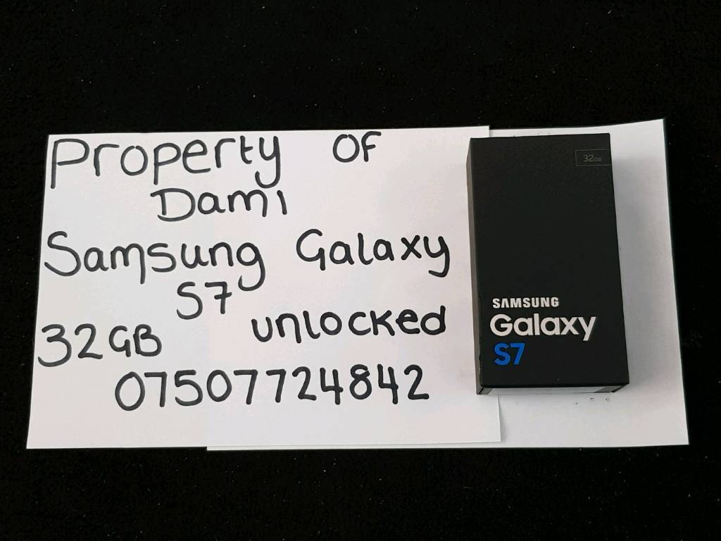 (READ ADS DESCRIPTION) Samsung Galaxy S7 SM-G930F 32GB Black Onyx (Unlocked)