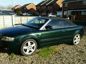Audi A4 B6 1.8t Convertible sell or swap