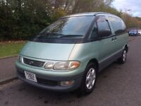 Toyota Estima 2.2 4dr GEN LOW MILES , 8 ADULT SEATS , MPV