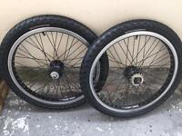 Haro bmx wheels and haro tyres