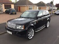 LAND ROVER RANGE ROVER SPORT 4.2 SUPERCHARGED LPG GAS CONVERTED. 2005