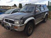 1 year mot Toyota hilux surf 3ltr turbo diesel automatic 4wd