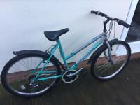 Ladies mountain ridge bike.