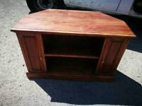Solid indian wood tv stand