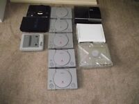 11 MEGA RETRO GAMES CONSOLE SALE XBox crystal 5x PS1s - PS2 - PS3 - Xbox360 SAGA - NINTENDO