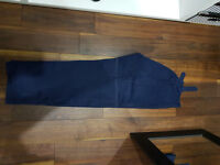 CHRIS MESTDAGH DESIGNER SWEAT PANTS SIZE XL WAIST 34 BLUE