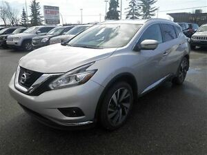 2016 Nissan Murano Platinum|Leather|NAV|Camera|Sunroof