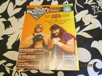 WCW OFFICIAL MAGAZINE OCTOBER 1993 STING AND VADER ON COVER HAVE OTHER MAGAZINES FOR SALE