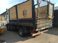 13 7.5 ton tipper iveco no VAT good driver great truck LEYLAND DAF FORD IVECO EURO CARGO
