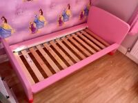 Pink junior bed from ikea