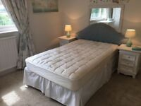 4' double storage bed with new pocket-sprung mattress