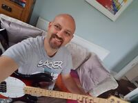 Bass player available for band