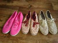Ladies/girls keds bundle