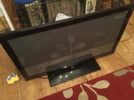 "Samsung 42"" tv spares or repair"
