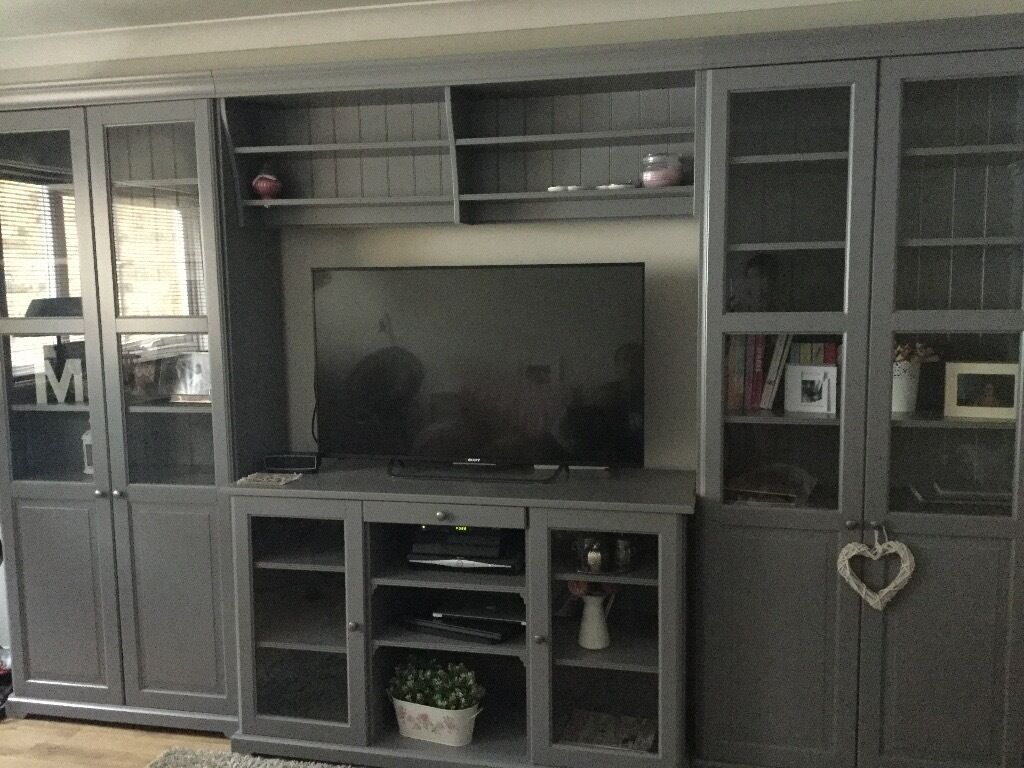 Ikea Liatorp Tv Storage Combination In Richmond London Gumtree # Combinaison Besta Et Liatorp