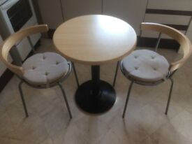 Bistro Table and 2Ikea Chairs