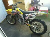 Rmz 450 road leagal p/x welcome 2 stroke