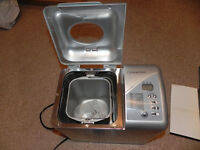 Cookworks Breadmaker, 2 times used! Excellent condition!