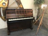 Beautiful French petite upright piano by A. Bord - CAN DELIVER THIS WEEKEND!