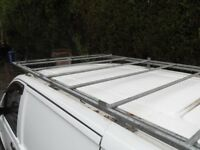 ROOF RACK OFF MERCEDES VITO WILL FIT LOTS OF VANS WITH ALL FITTINGS