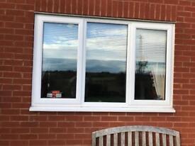 Double glazed window upvc used