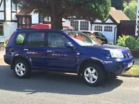 PICTURES ARE HERE. 4x4 Nissan X-Trail Sport, Blue, Automatic
