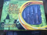 Lord of the rings chess sets.