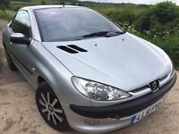 Peugeot 206 CC 1.6 manual Convertible