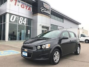 2015 Chevrolet Sonic LT/HATCHBACK/ VERY LOW KM 1 OWNER TRADE IN
